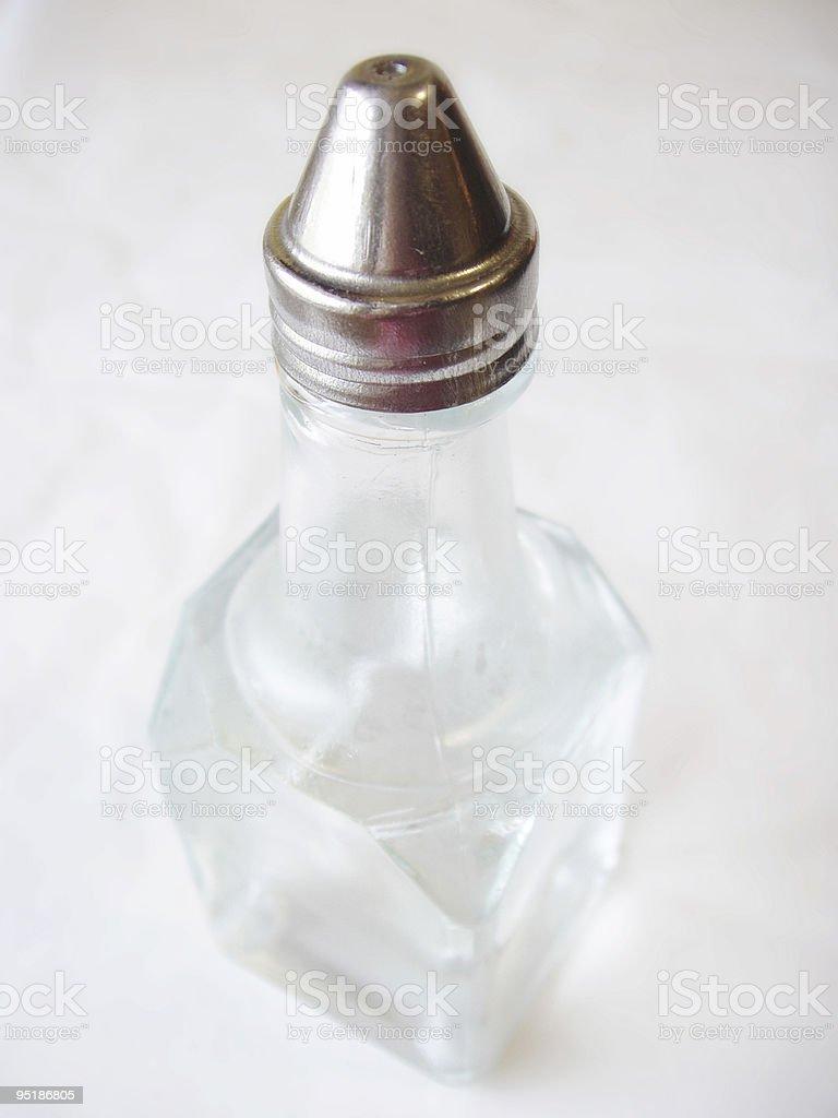 white vinegar royalty-free stock photo