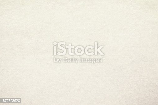 istock White vintage paper texture background 670723920