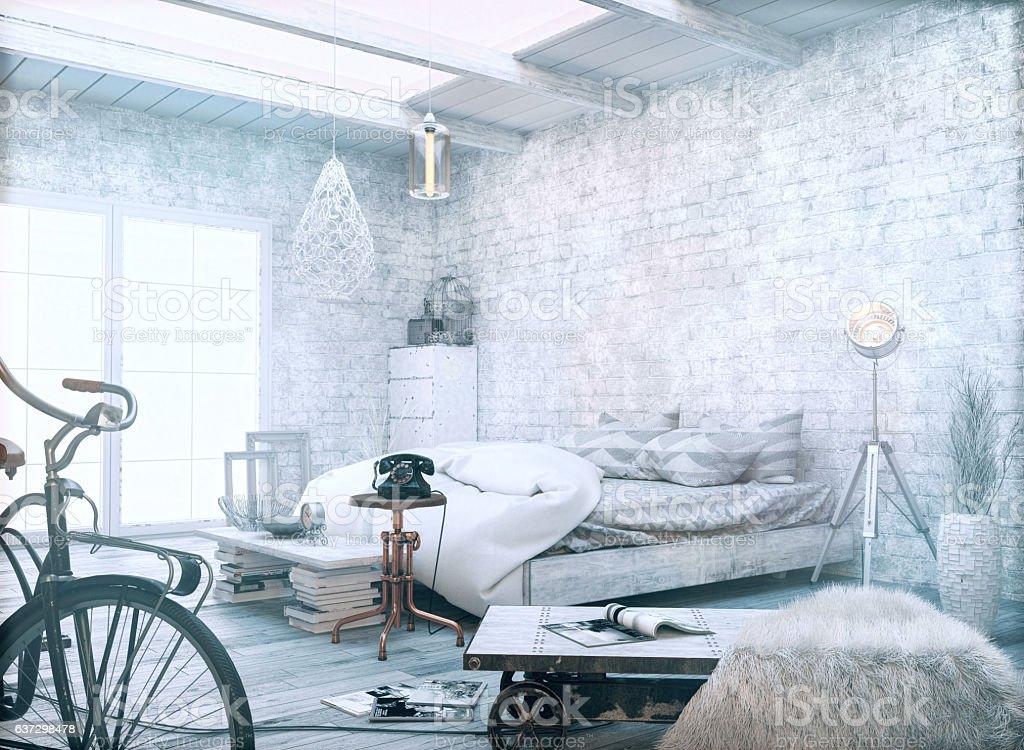White vintage style. - foto de acervo