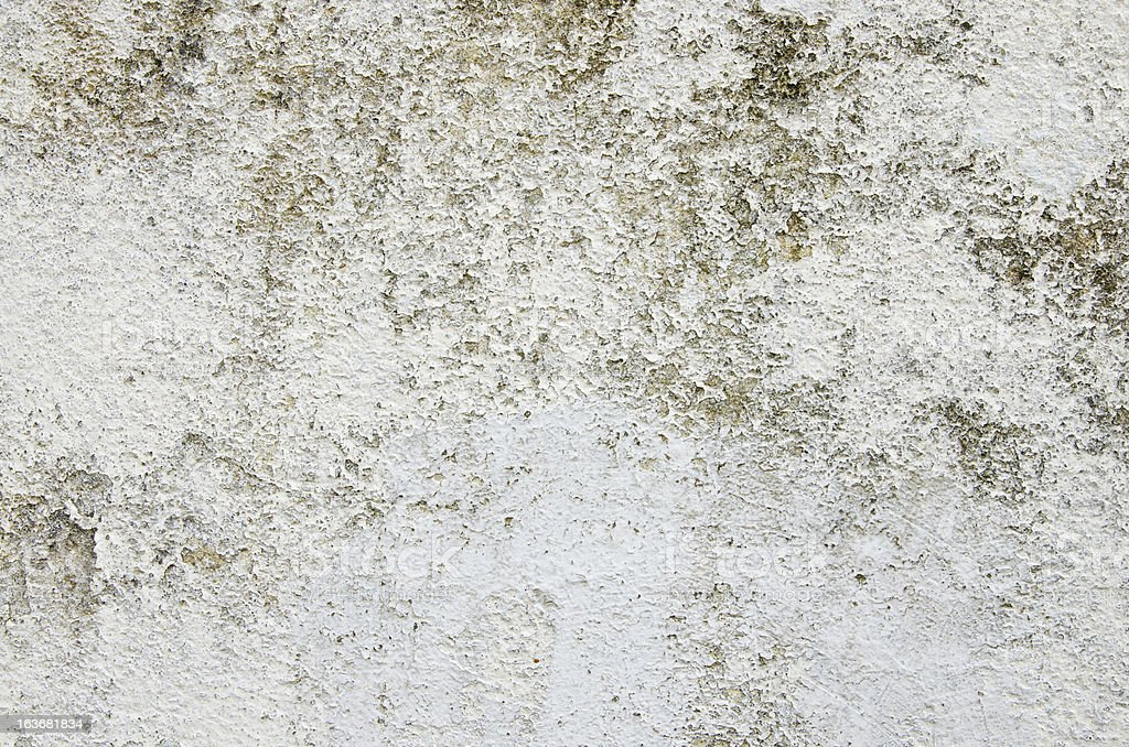 White wall damage paint royalty-free stock photo