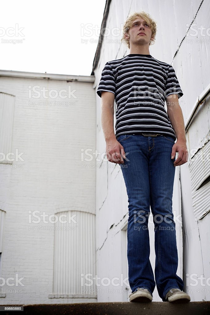 white wall male portraits royalty free stockfoto