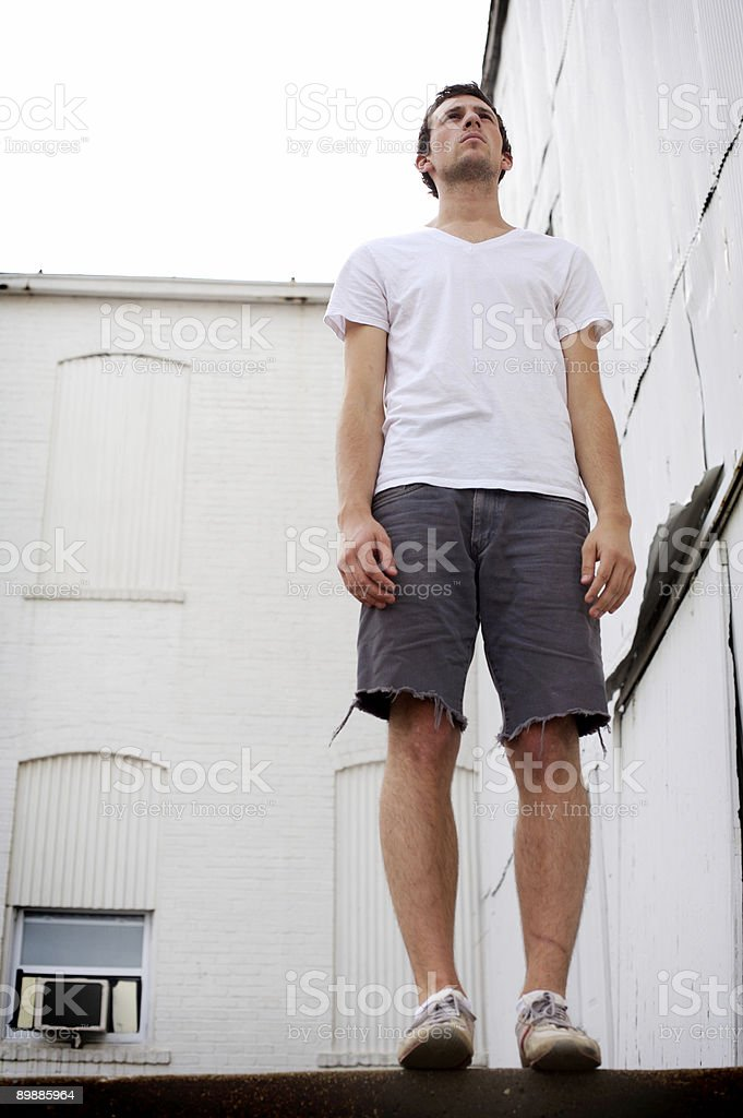 white wall male portraits royalty-free stock photo
