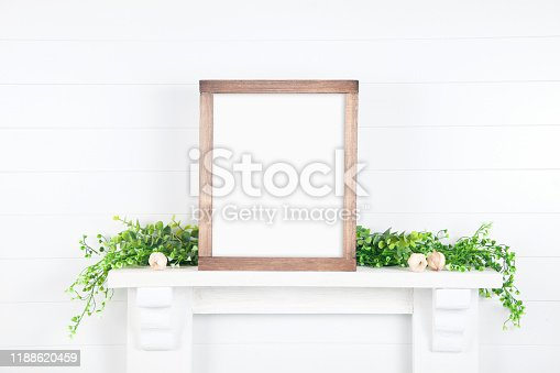 istock white wall mock up for your design 1188620459