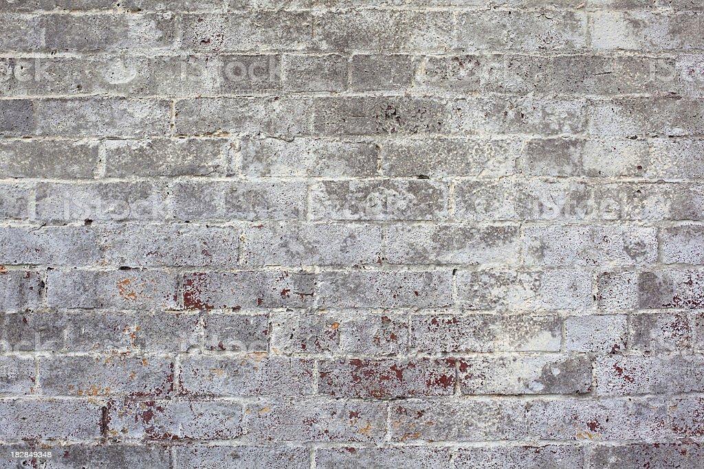 White Wall of Alcatraz royalty-free stock photo