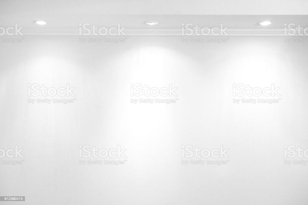 Weiße wall – Foto