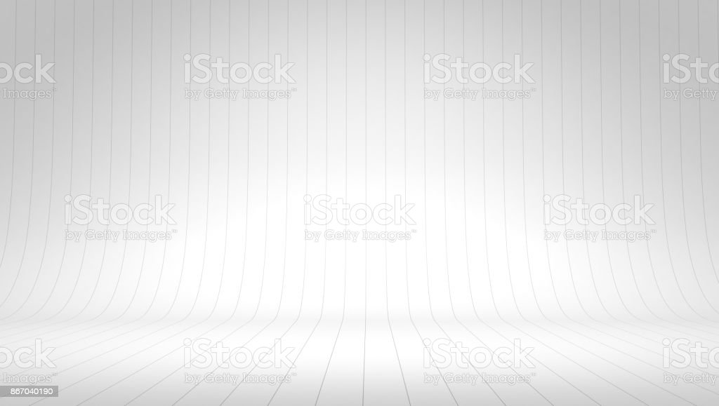 White wall room background, space backdrop stock photo