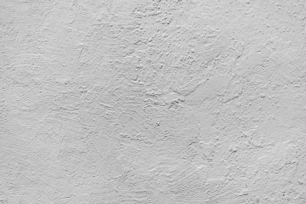 textura de la pared de blanco, cal de la pared, fondo de alta resolución - estuco fotografías e imágenes de stock