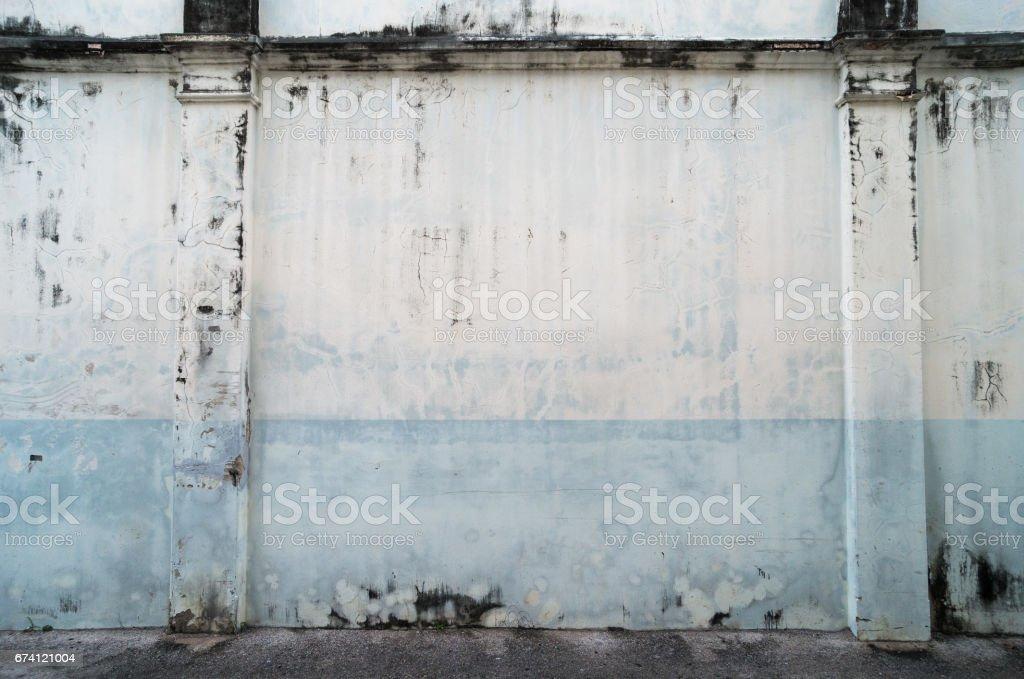白色的牆體裂縫 免版稅 stock photo