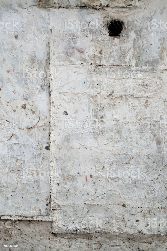 White wall with cracks foto de stock royalty-free
