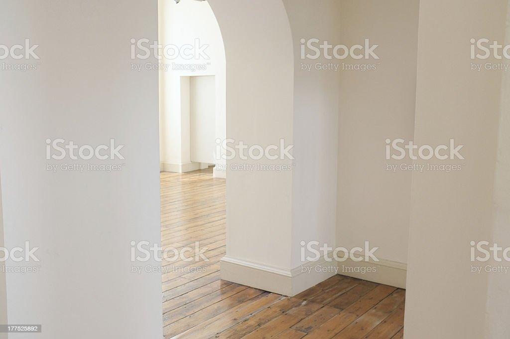 White walls royalty-free stock photo