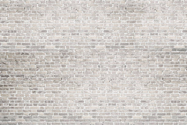 White wash brick wall texture. Background for text or image.​​​ foto