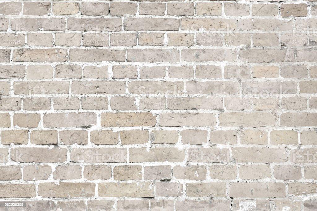 Eski tu la duvar yatay arka plan beyaz y kanm stok for Old brick wall white