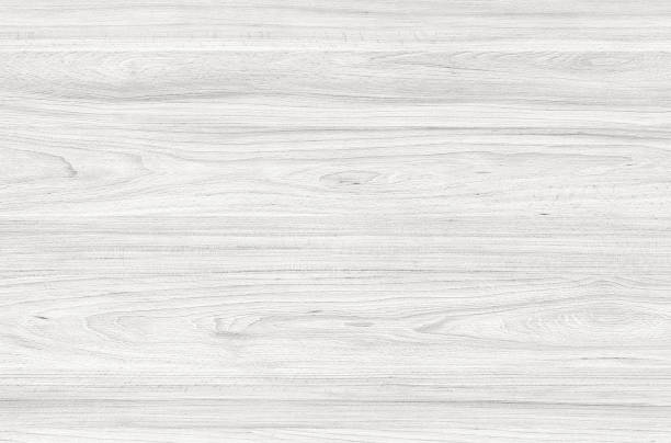 White washed soft wood surface as background texture stock photo