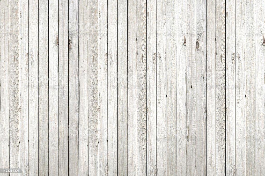 White washed vertical wood panel background stock photo