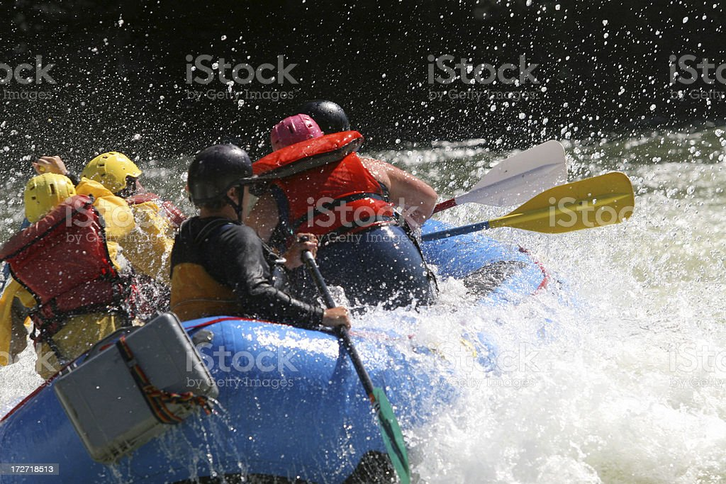 White Water stock photo
