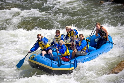 istock White Water Rafting in Colorado 116031446