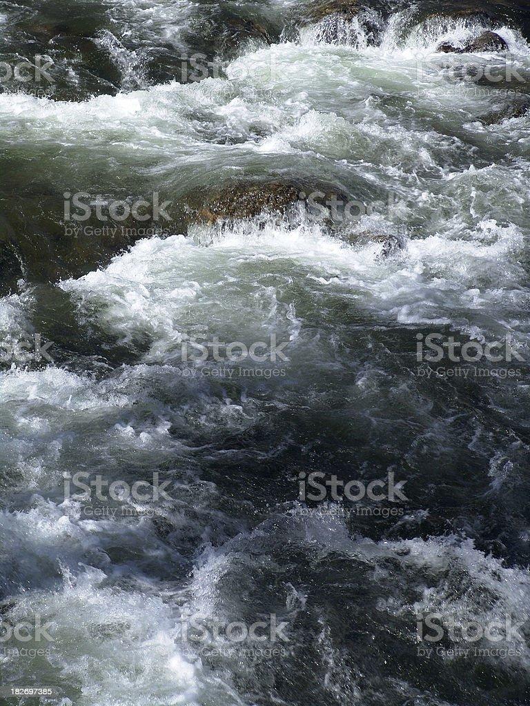 White Water Rapids stock photo