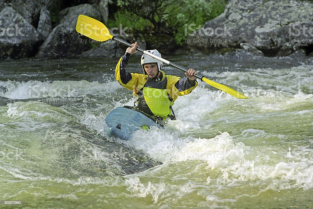 white water sport royalty-free stock photo