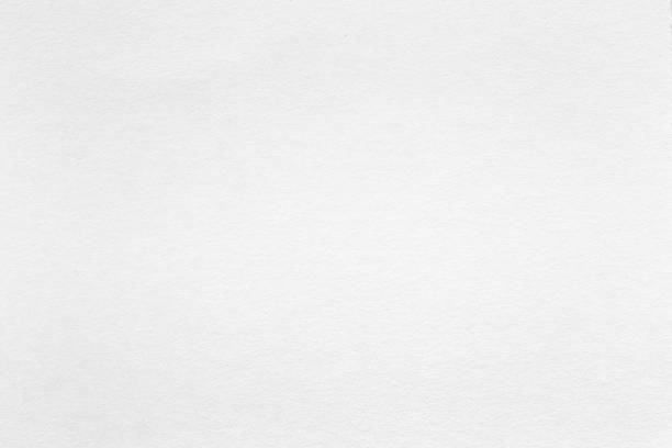 white watercolor paper texture, background. white paper in extremely high resolution. - grainy stock photos and pictures