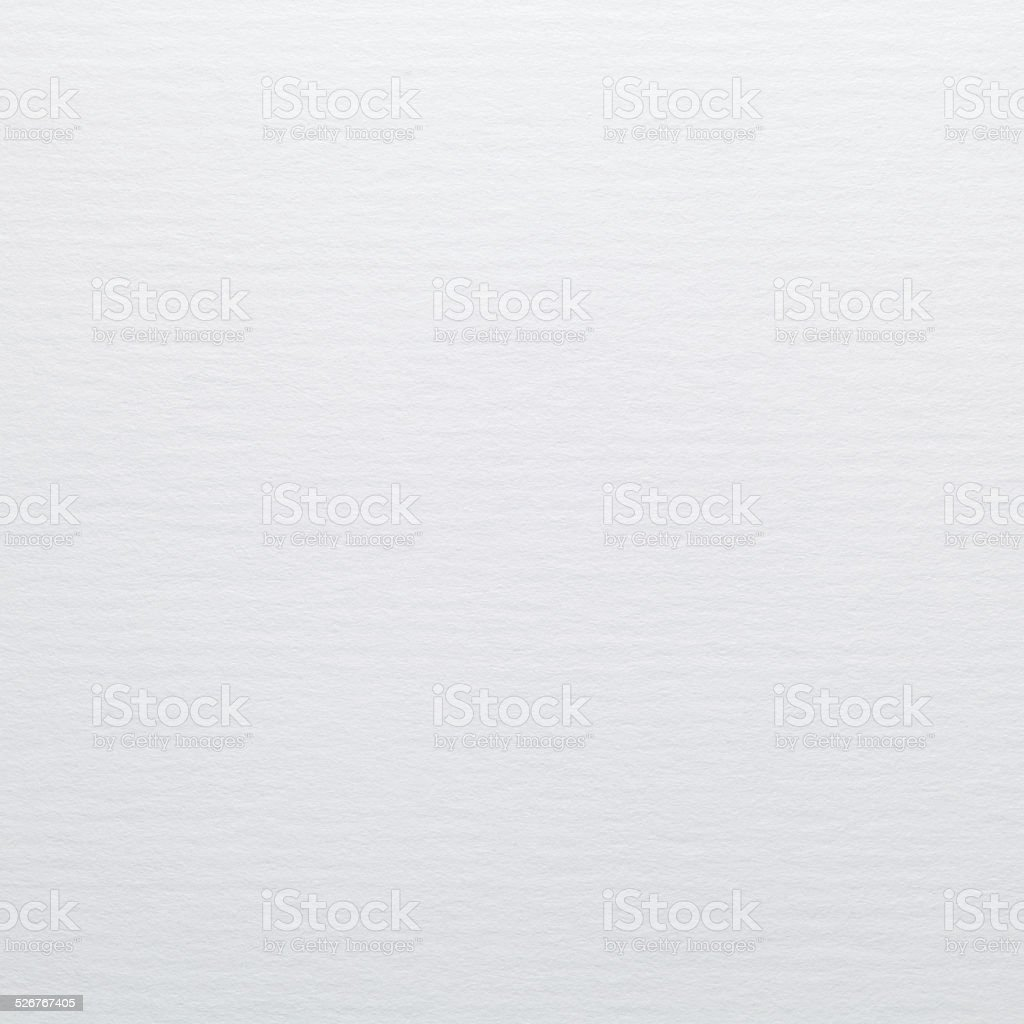 White watercolor paper texture or background stock photo