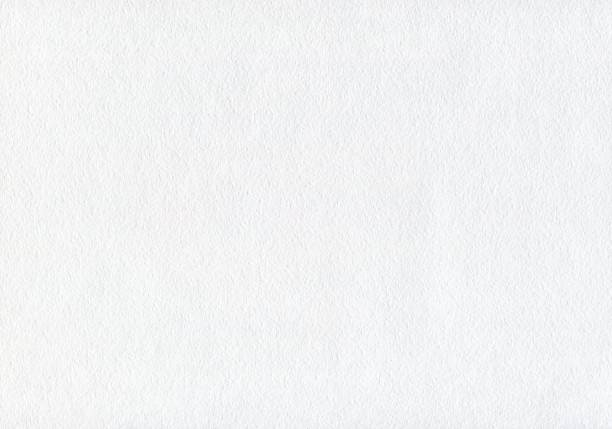 White watercolor paper texture. Space background. stock photo