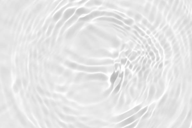 white wave abstract or rippled water texture background - transparency imagens e fotografias de stock