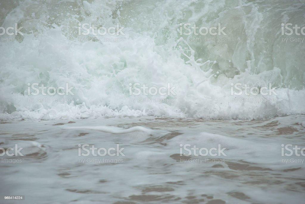 White wave zbiór zdjęć royalty-free