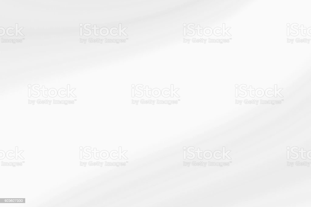 White waves with light gray, abstract soft background stock photo