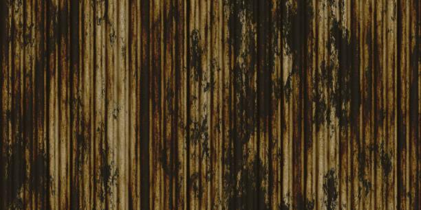 화이트 풍화 녹 골판지 금속 질감 스톡 사진