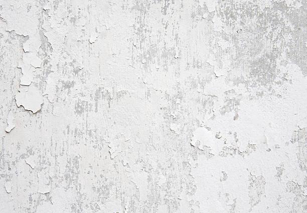 białe ściany zniszczony przez warunki atmosferyczne - popękany zdjęcia i obrazy z banku zdjęć