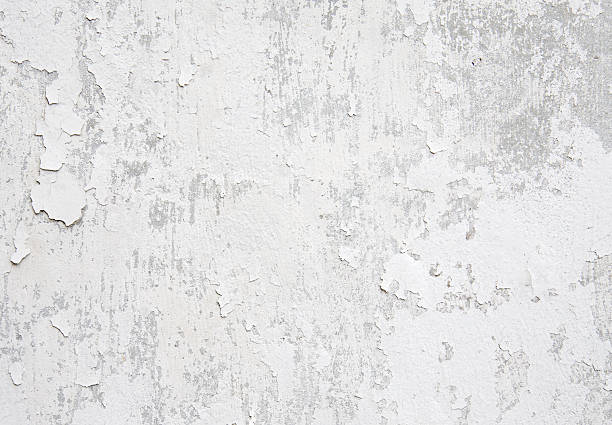 white weathered wall - peeled stock photos and pictures