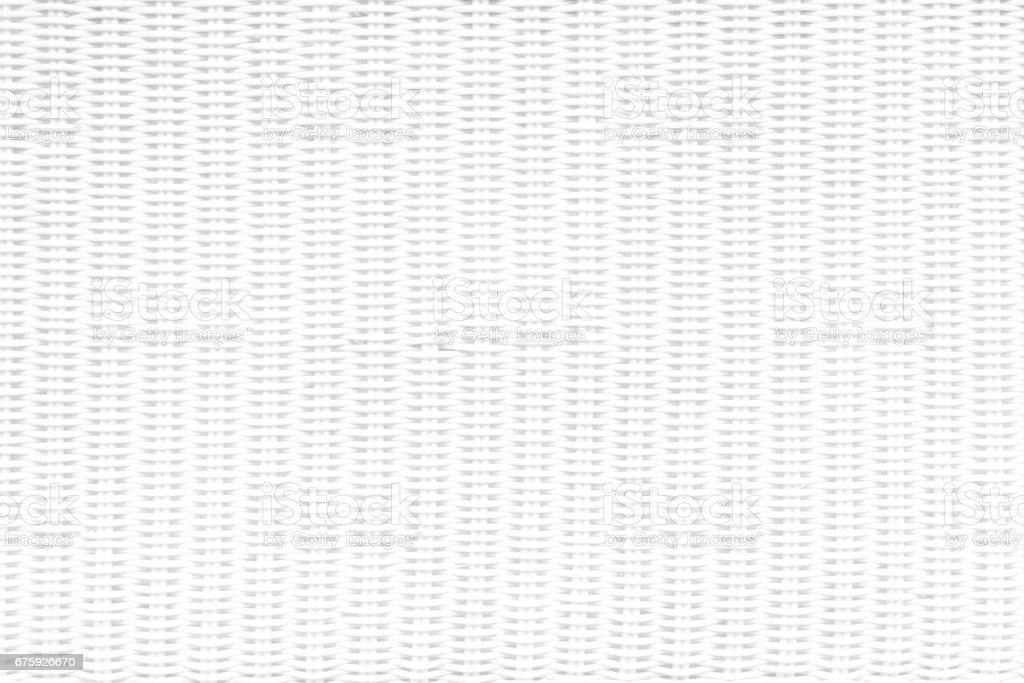 White Weave Basket Background.