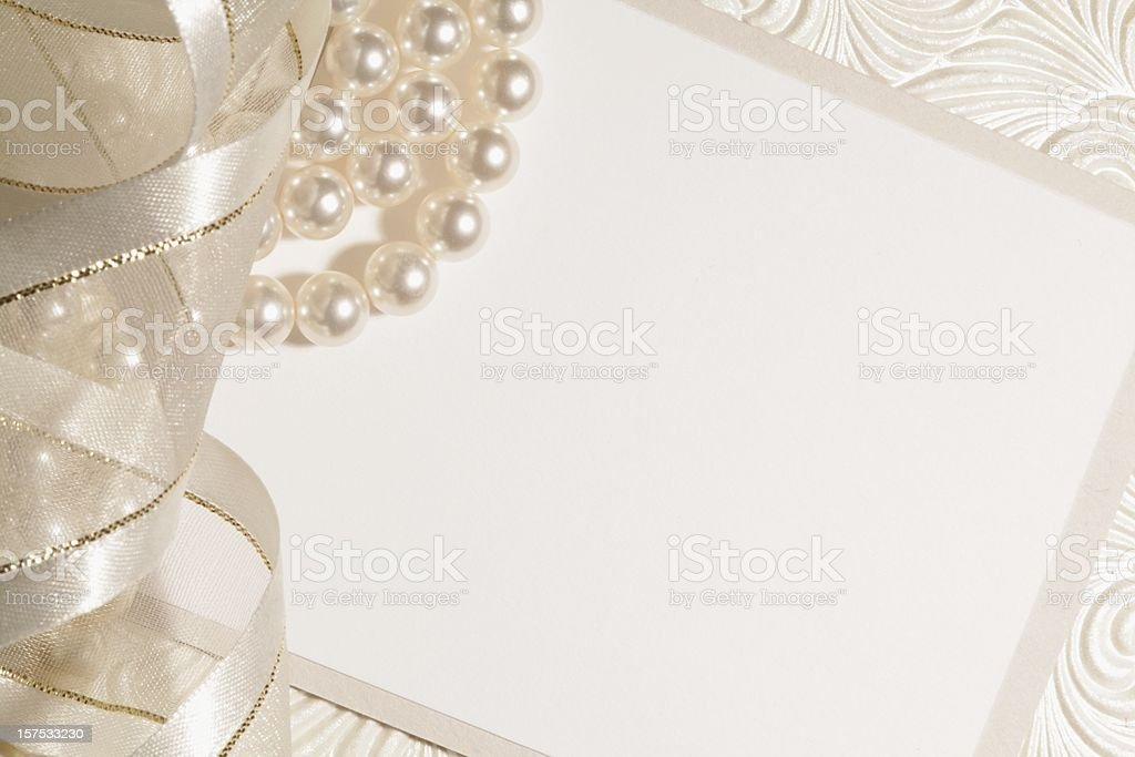 White Wedding Background stock photo
