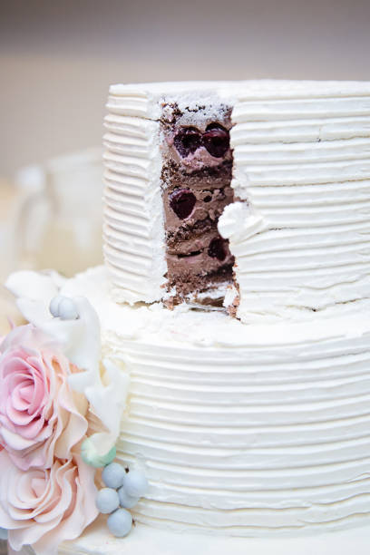 706 Wedding Cake Tasting Stock Photos Pictures Royalty Free Images Istock