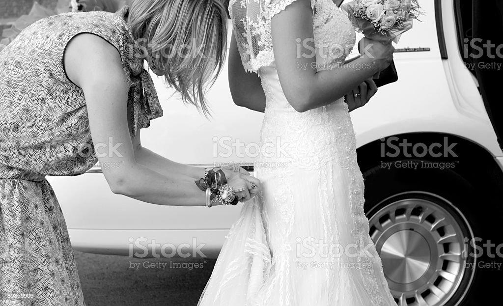 Biały ślub zbiór zdjęć royalty-free