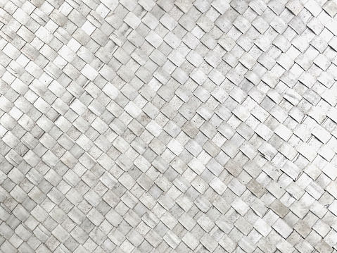 White wicker woven background