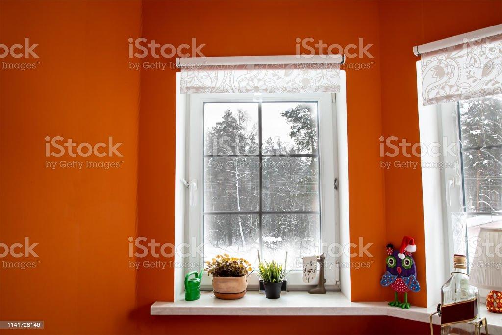 Photo libre de droit de Fenêtre Blanche Dans La Chambre ...