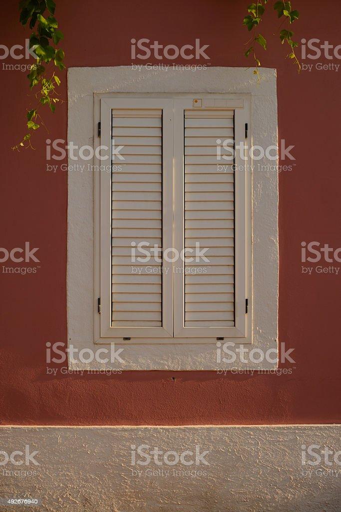 White window stock photo