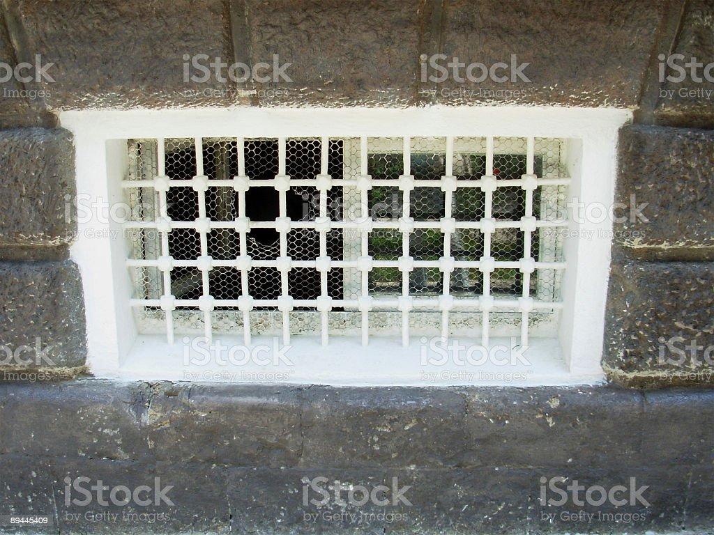 white window royalty-free stock photo