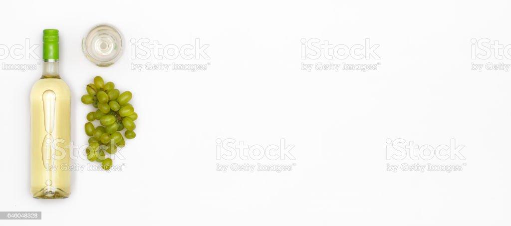 white wine header image - foto stock