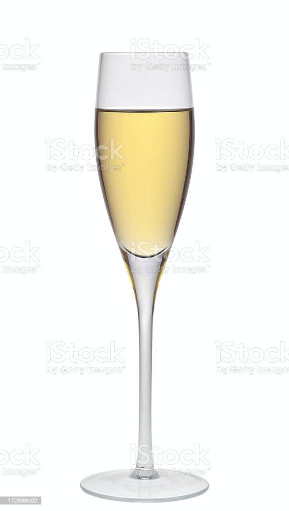 White wine. stock photo