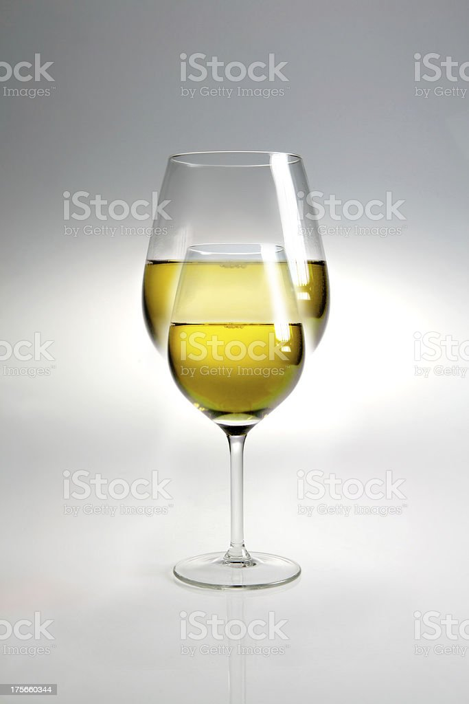 vino bianco royalty-free stock photo
