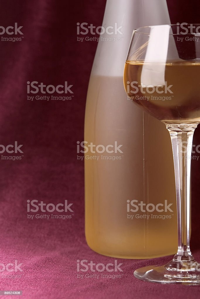 white wine Lizenzfreies stock-foto