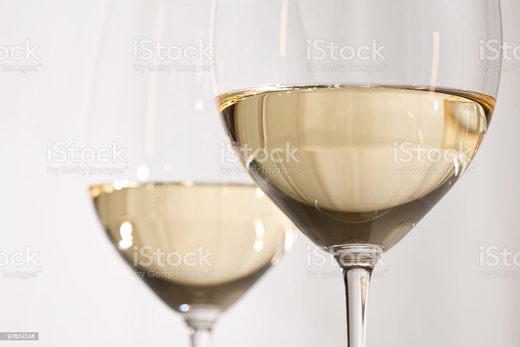 White wine royaltyfri bildbanksbilder