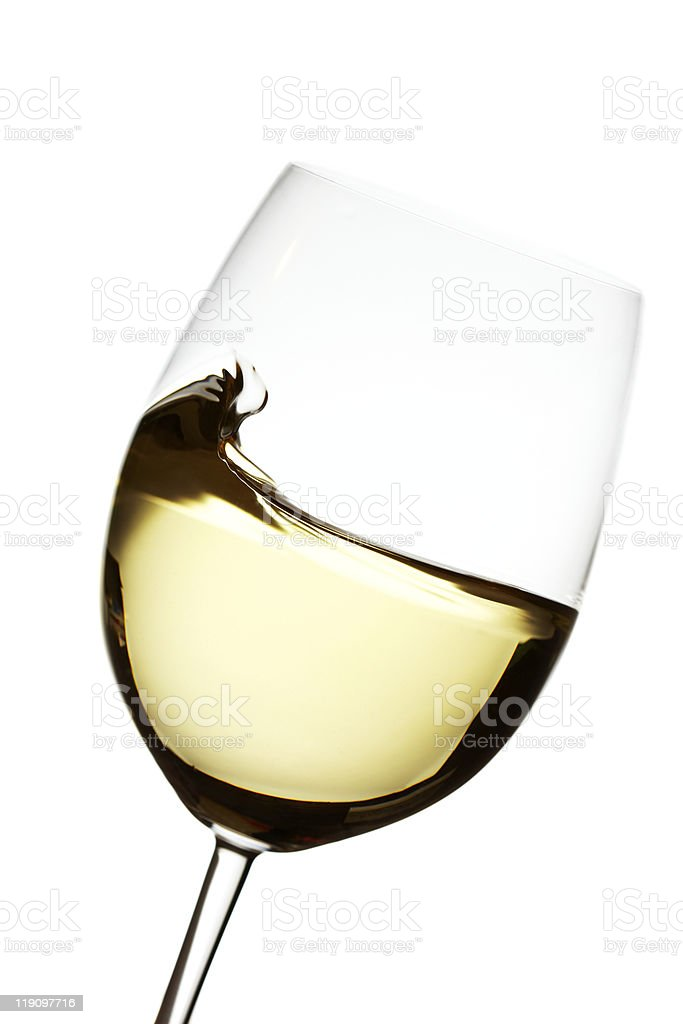 White wine wave royalty-free stock photo