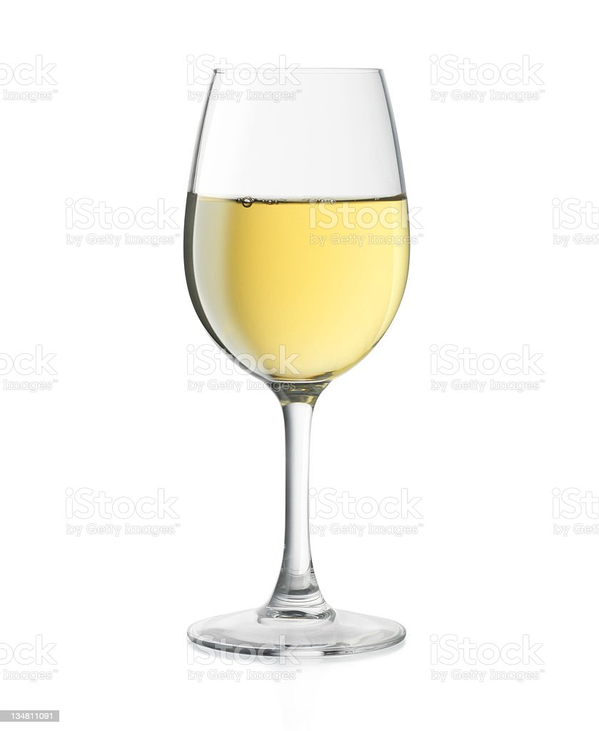 Vino bianco XXL - foto stock