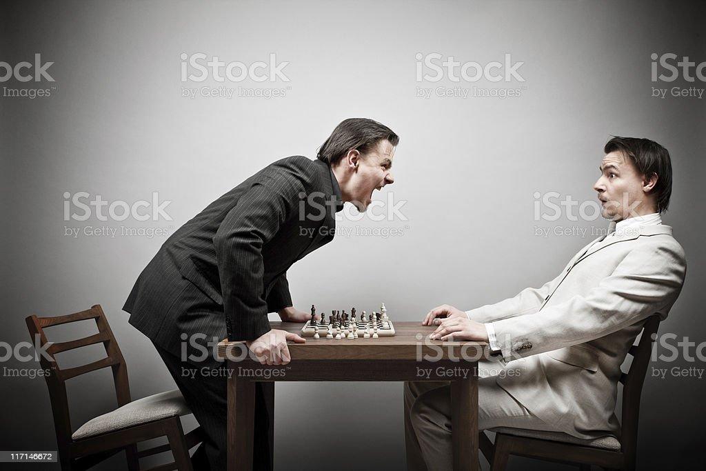 White wins? royalty-free stock photo