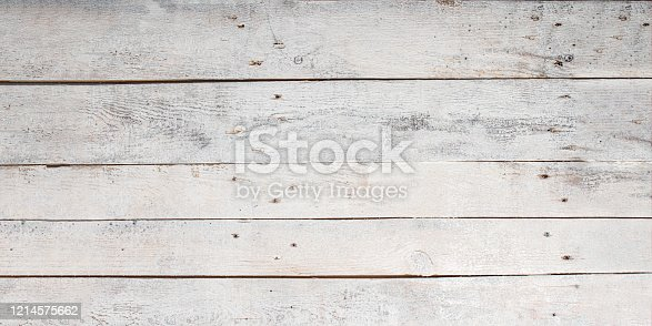 white wood board background with copy space, Wood planks