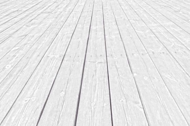suelo de madera blanca - foto de stock