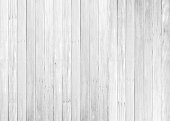 istock White wood floor texture background. plank pattern surface pastel painted wall; gray board grain tabletop above oak timber; tree desk,panel wooden dirty and cracked craft material dry sepia vintage. 1145142927